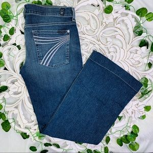 7 for all mankind | dojo flare jeans 31